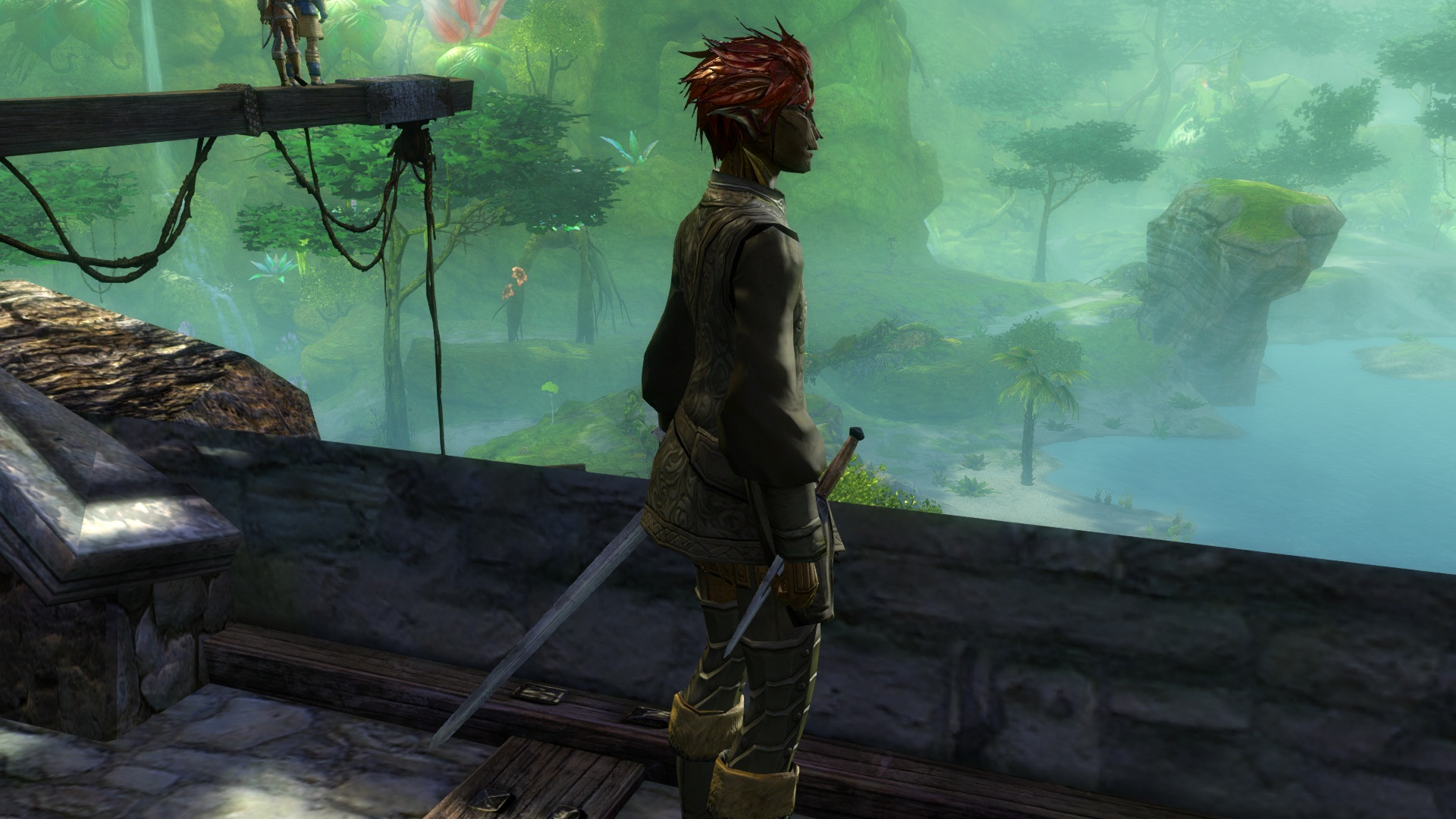 Helecho, my Sylvari thief